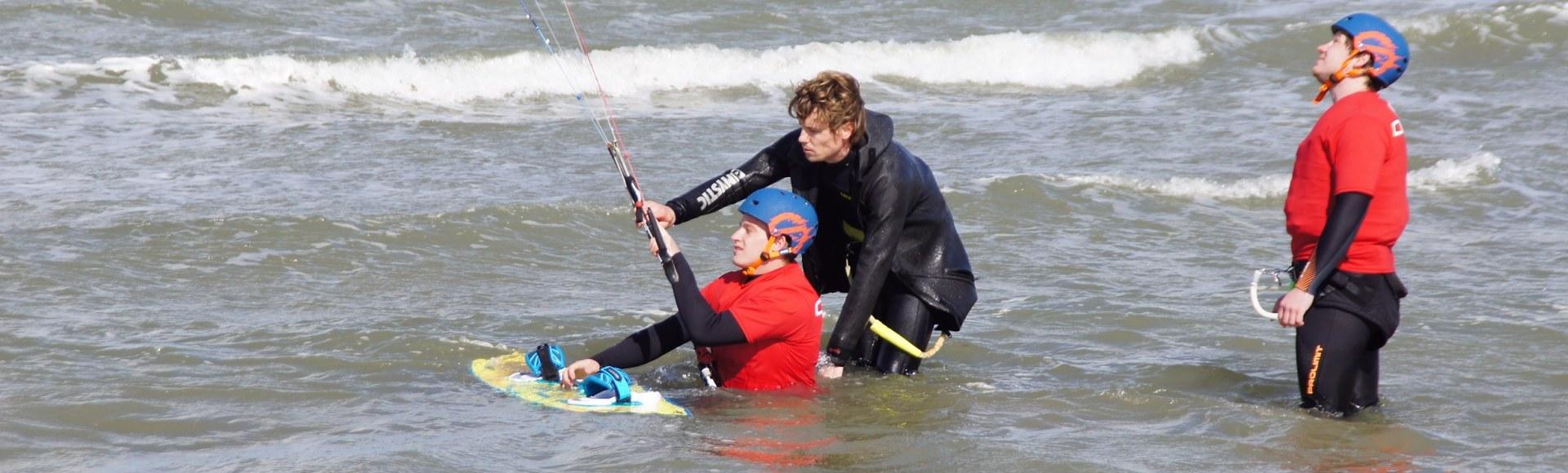 Kitesurf Les Bloemendaal aan Zee