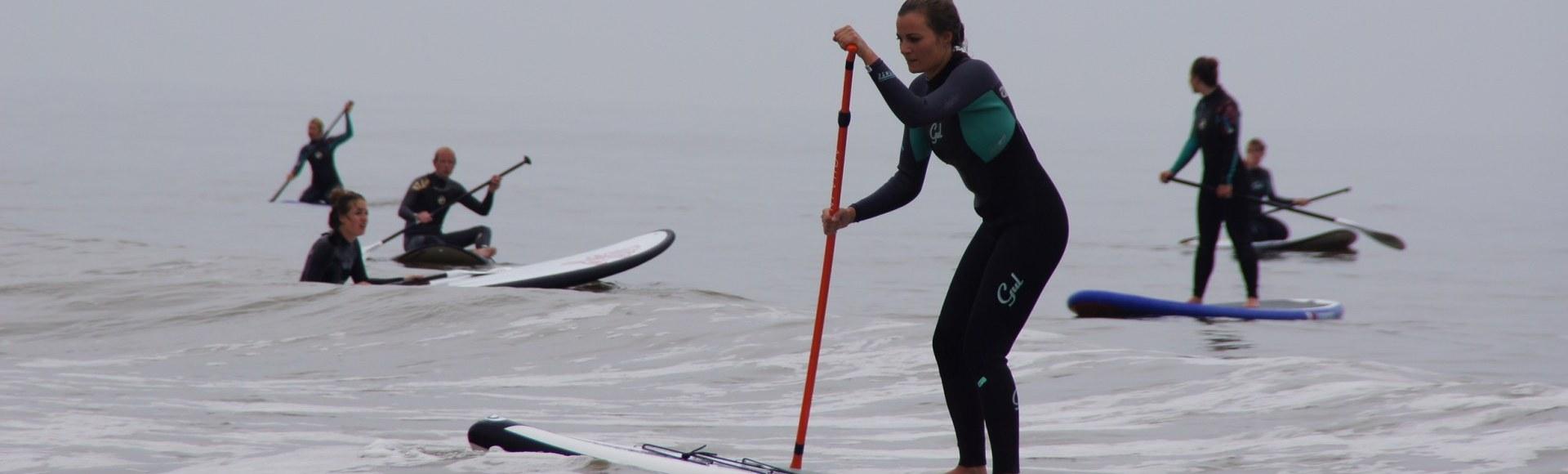 Supboard stalling Bloemendaal