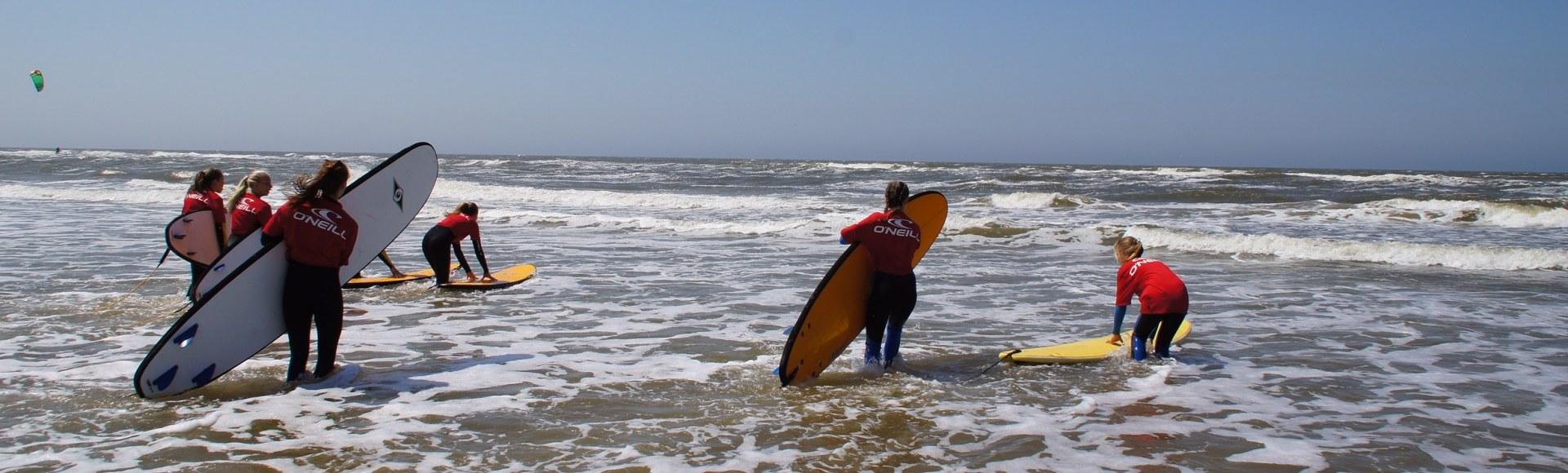 Surfplank stalling Bloemendaal